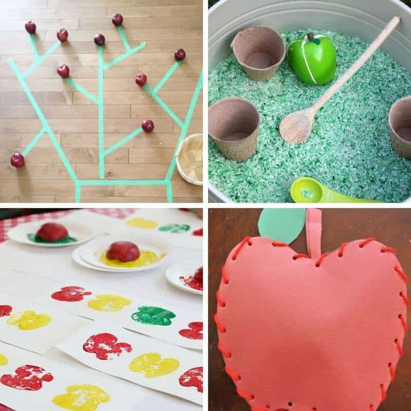 ideas for apple activities for toddlers