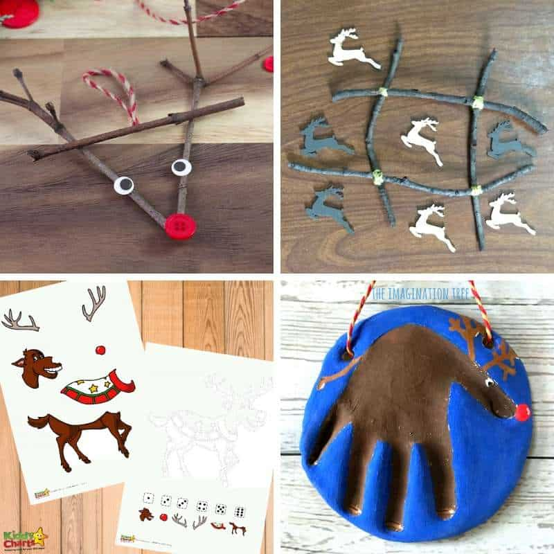 rudolph activity ideas for toddlers
