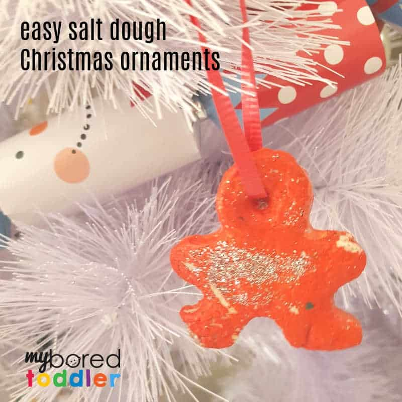Easy Salt Dough Christmas Ornaments