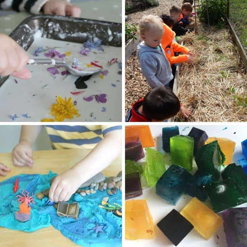 summer sensory activities for kids