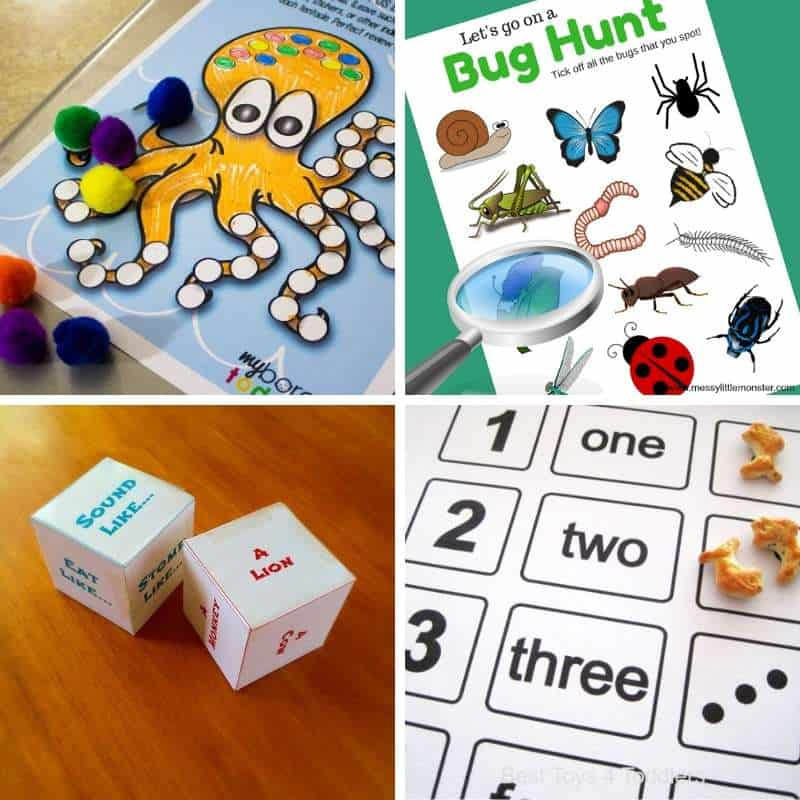 imprimíveis grátis para pré-escolares