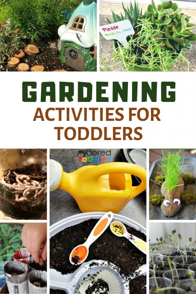 Engaging and fun gardening activities for toddlers both outdoors and indoors - My Bored Toddler