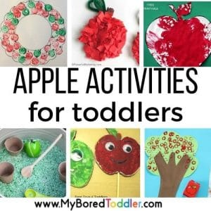 apple activities and crafts for toddlers