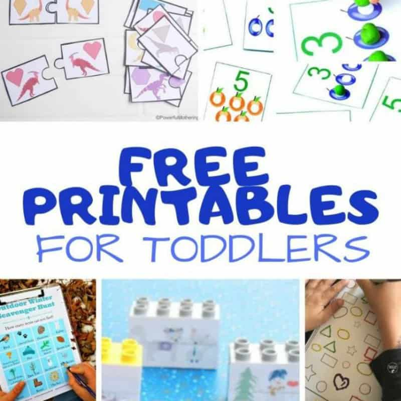 Free Printables for Toddlers - My Bored Toddler