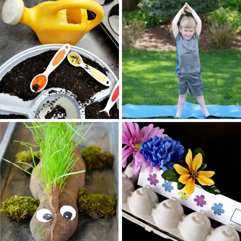 planting and gardening activities for kids