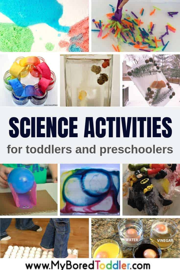 Science Experiments For Toddlers And Preschoolers My Bored Toddler