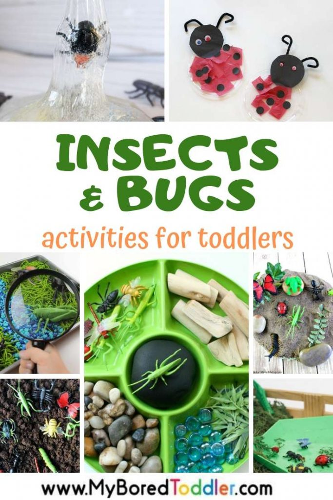 My Bored Toddler - Activities and crafts with insects and bugs for toddlers