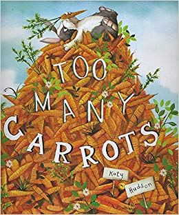 Too many carrots - best toddler Easter books