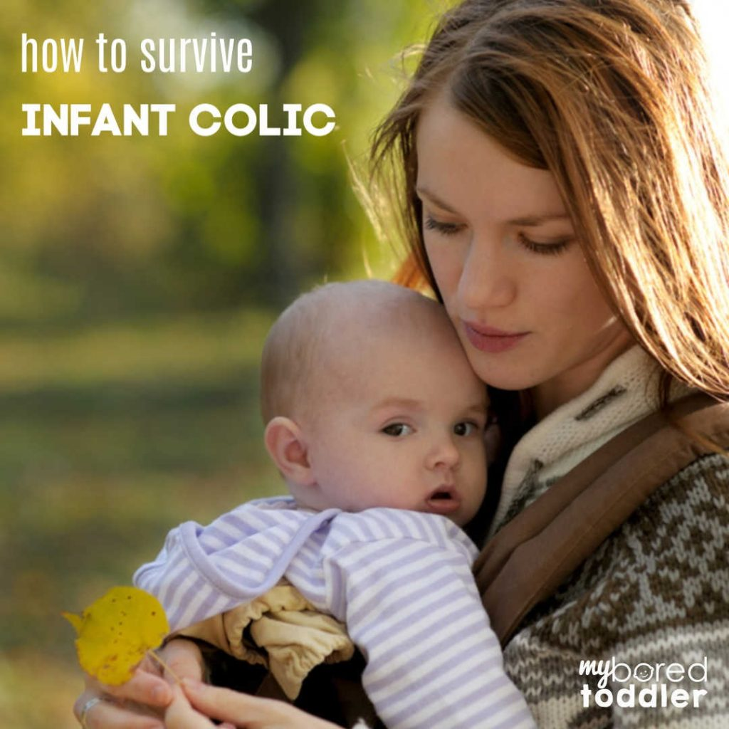 How to survive if your baby has infant colic.