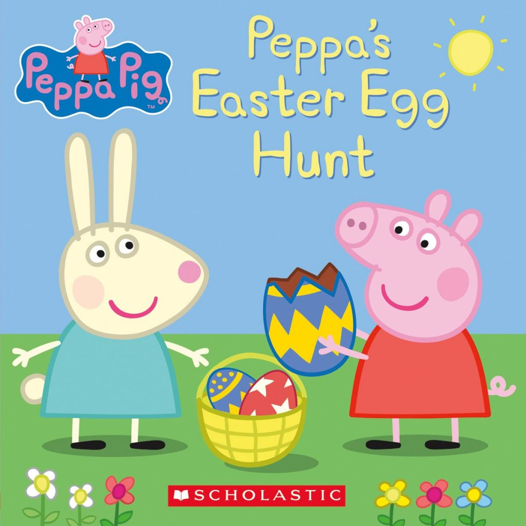 peppa's easter egg hunt - best easter themed books for toddlers