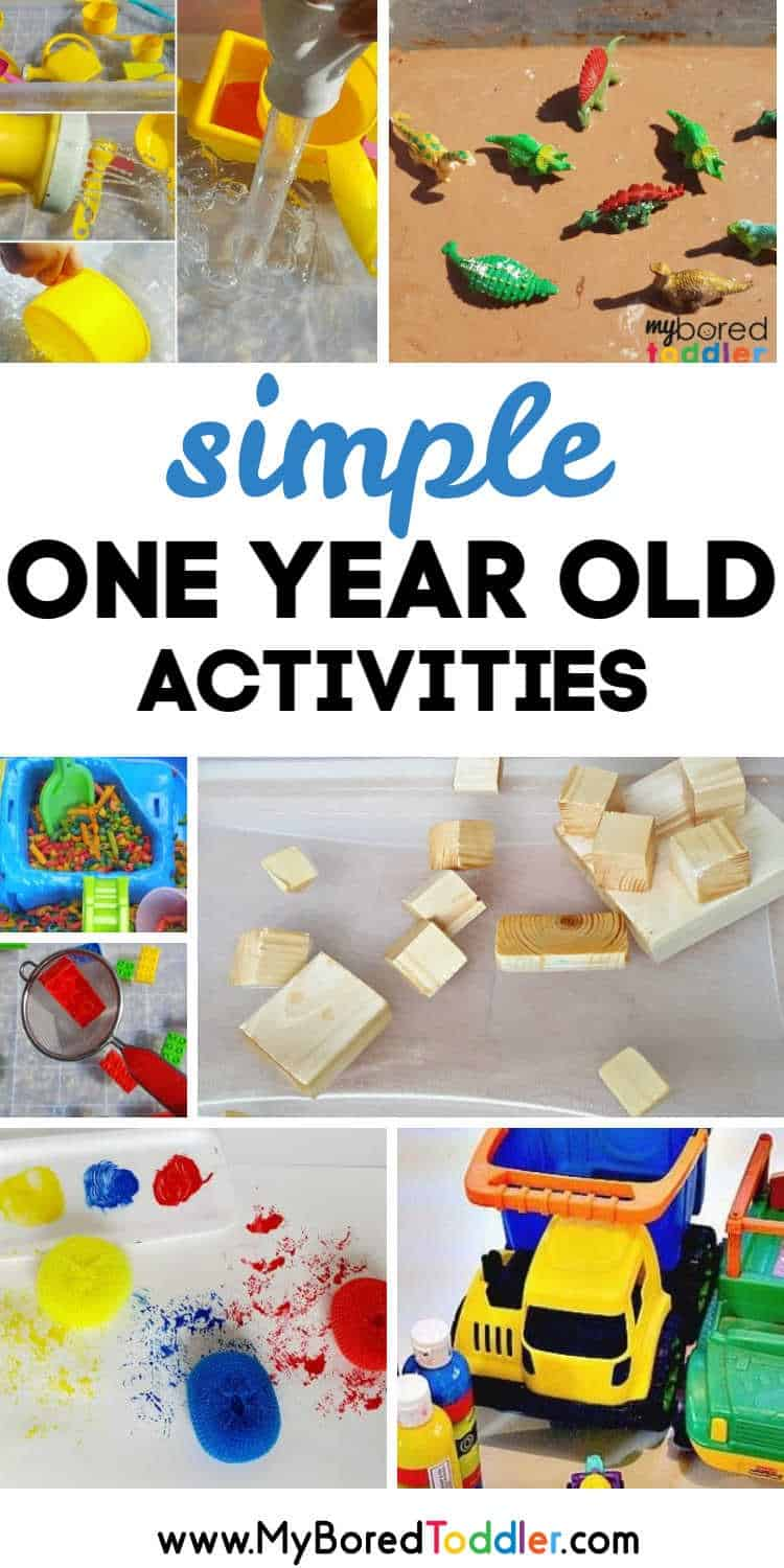 simple one year old activities