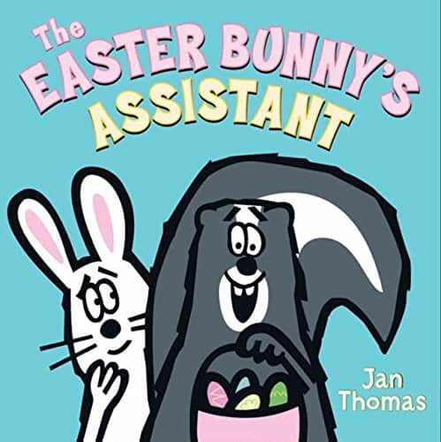 the easter bunny's assistant - best books for toddlers at Easter time