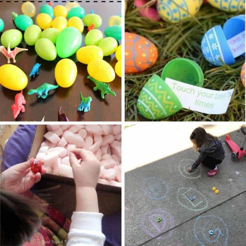 Easter scavanger hunt ideas for toddlers