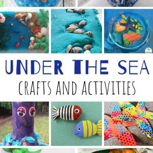 under the sea crafts and activities for toddlers
