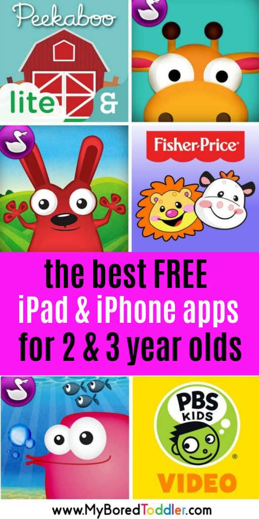 best free ipad apps for toddlers