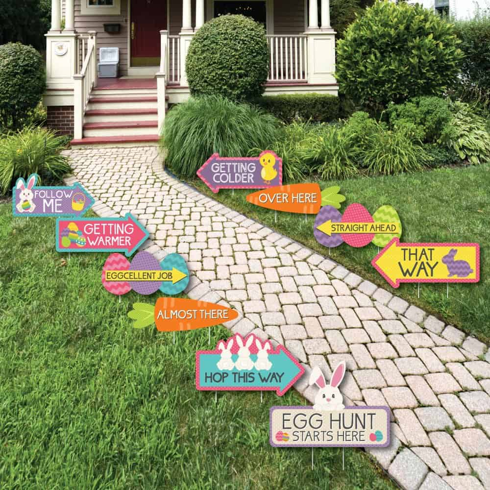 easter egg hunt signs 2