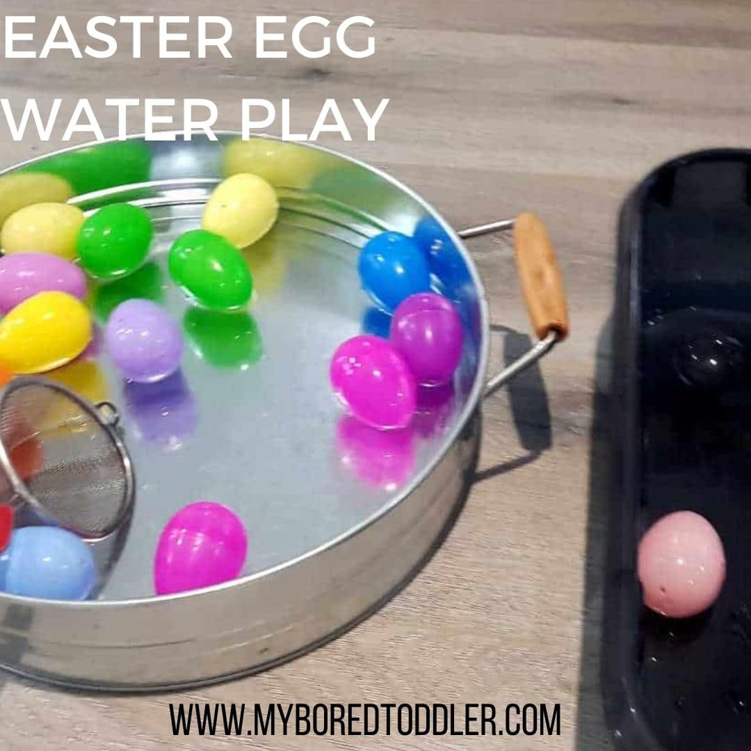easter egg water play