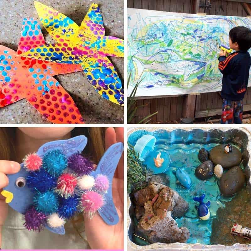 exploring under the sea through play