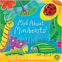 mad about minibeasts book for toddlers