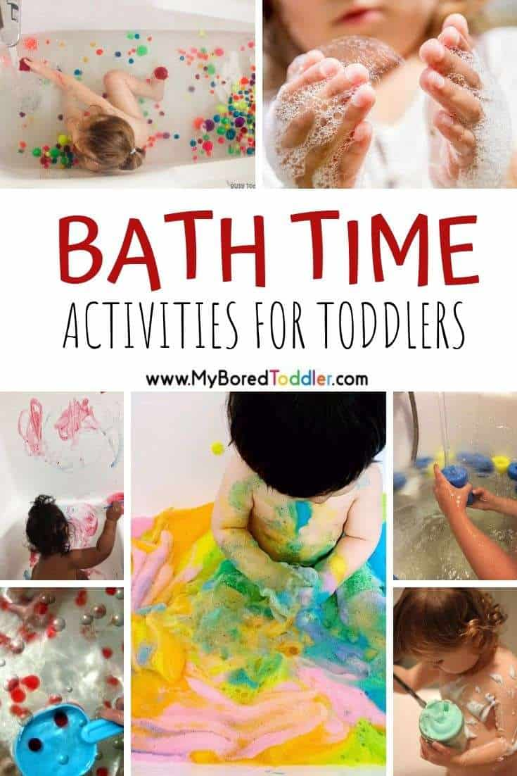 bath time activities for toddlers