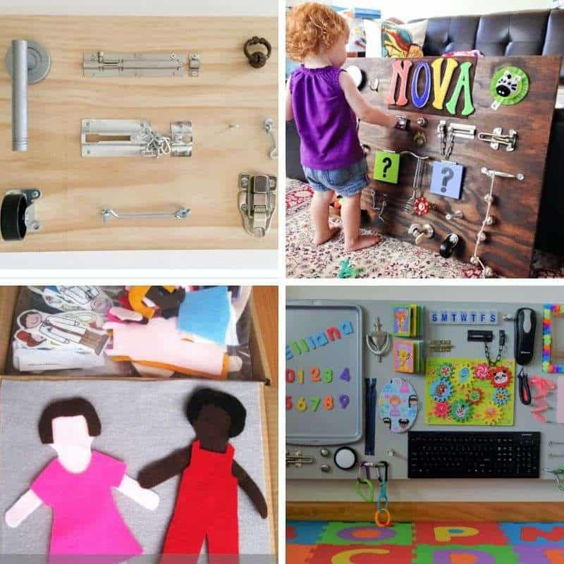 busy board ideas for toddlers