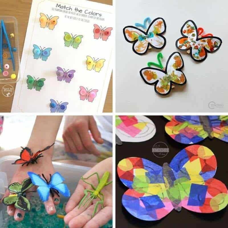 butterfly crafts for toddlers