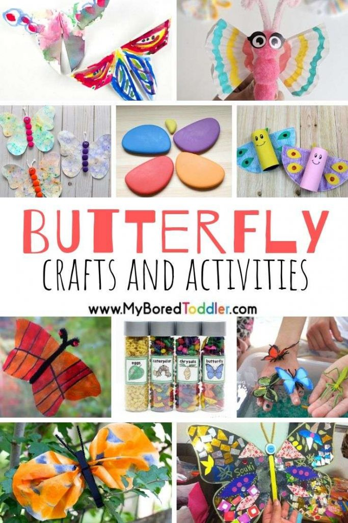 Butterfly crafts and activities for kids