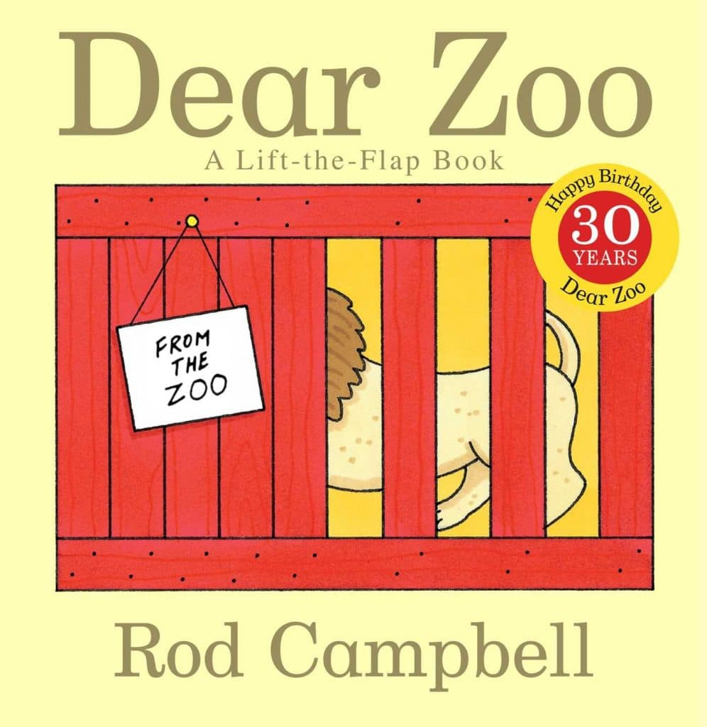 Dear zoo book for toddlers