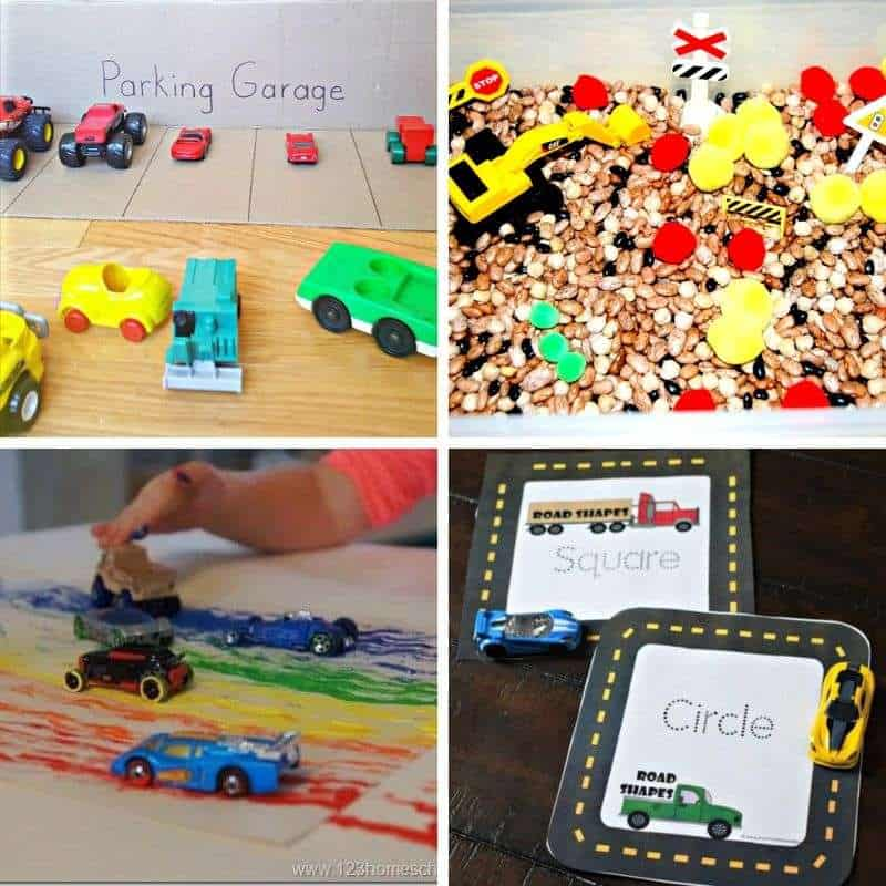 transportation activities for toddlers