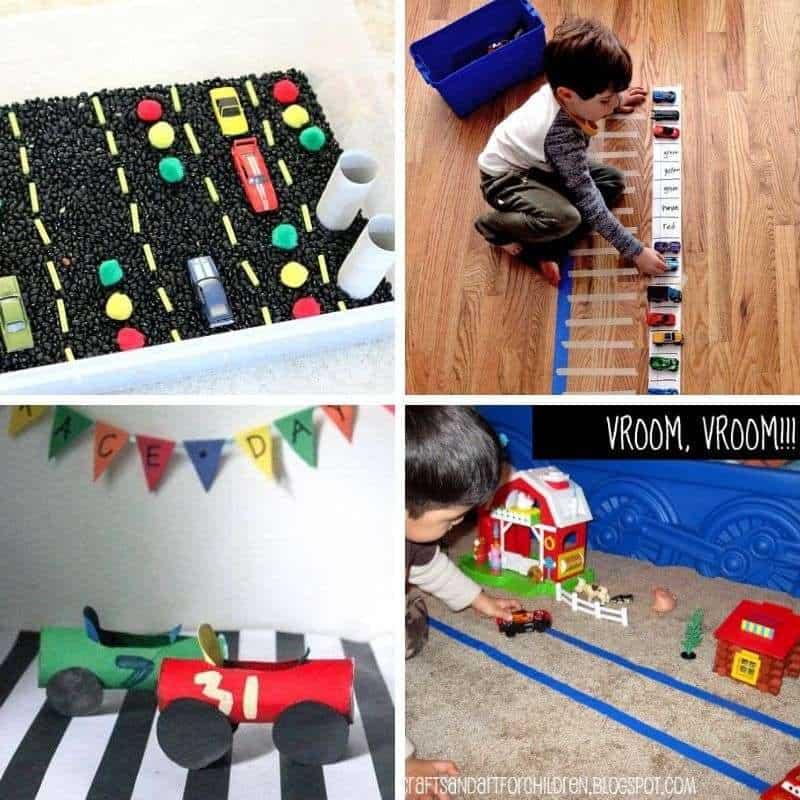 trucks activities for preschoolers