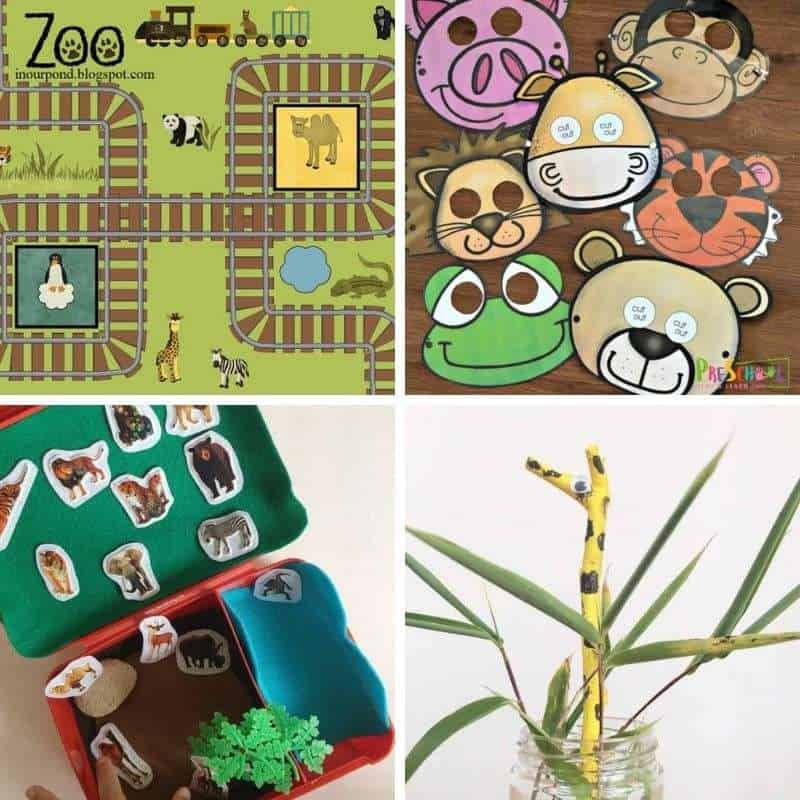 zoo animal theme for toddlers