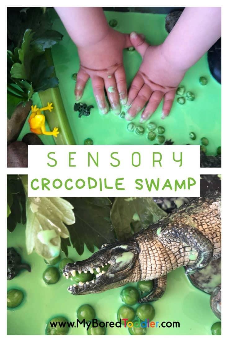 Sensory Crocodile Swamp Small World