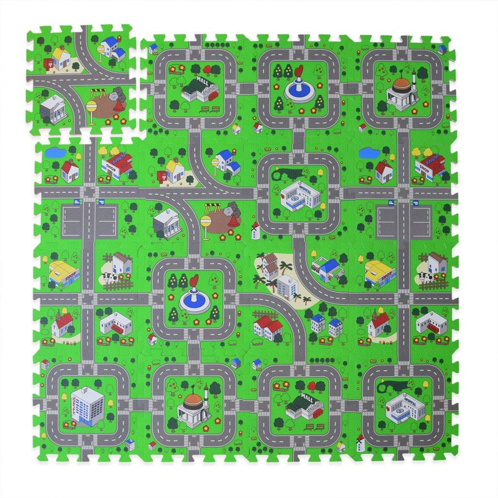 toddler play mat road