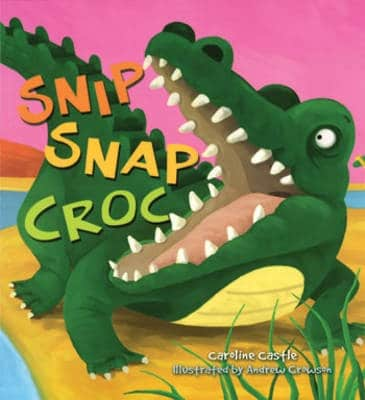 snip snap croc book for toddlers
