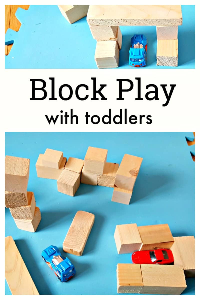Block play with toddlers