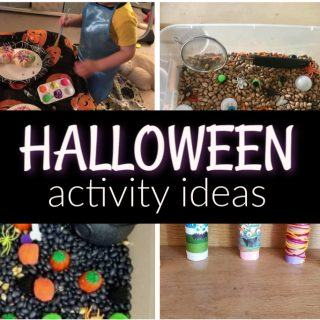 Simple Halloween Craft Ideas for Toddlers to do at Home