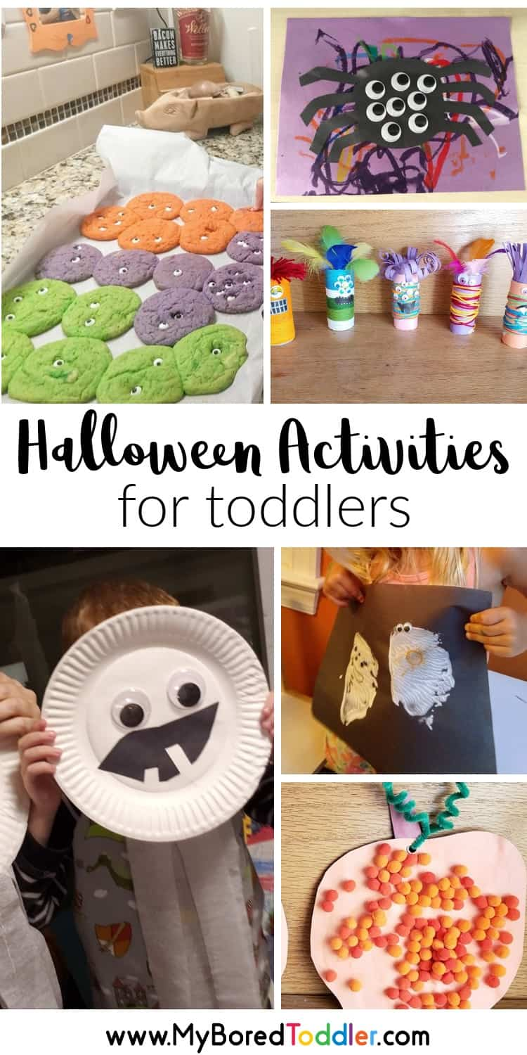 Halloween activities for toddlers roundup pin