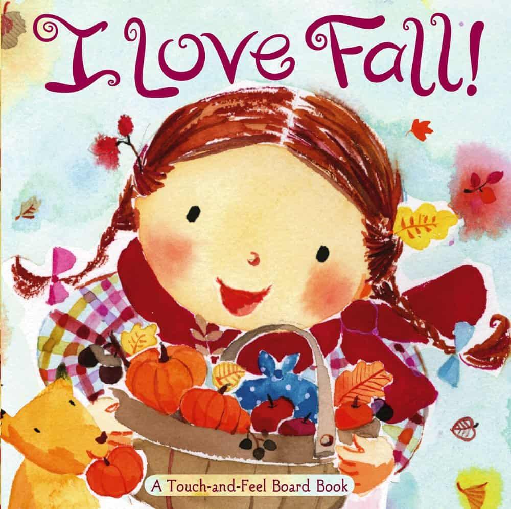I love fall toddler board book