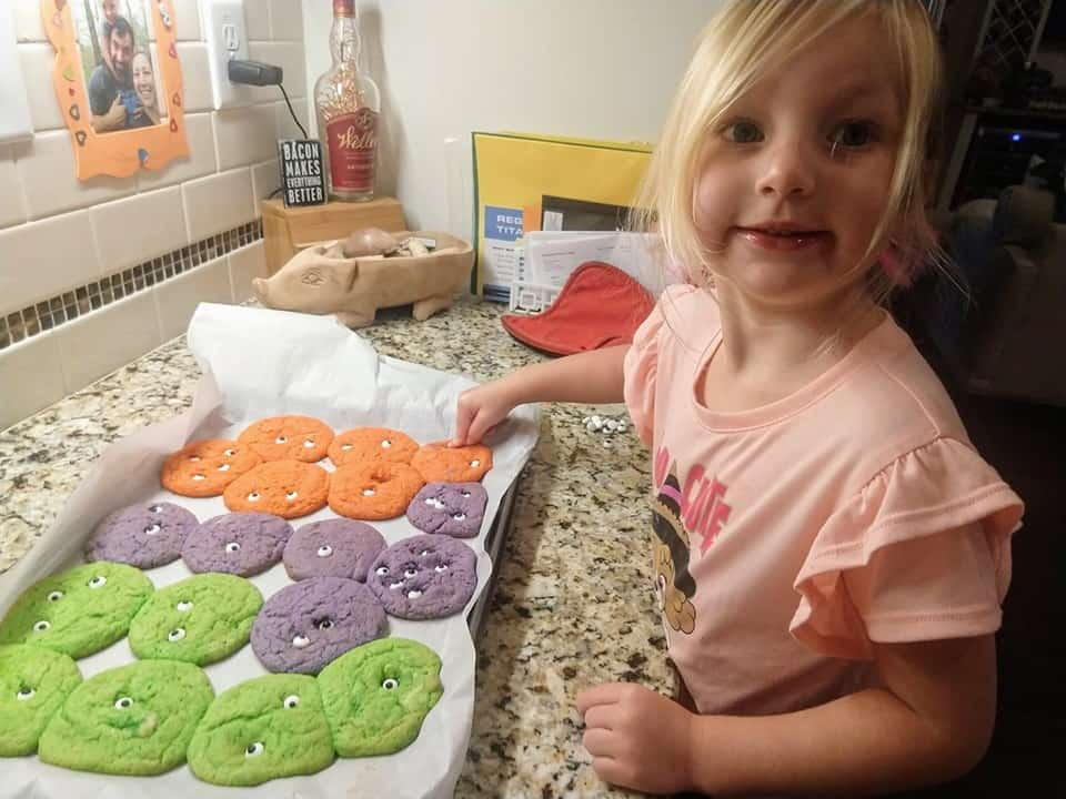 halloween cookies for toddlers to make