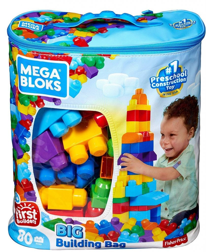 mega bloks gift idea for babies 6 - 12 months