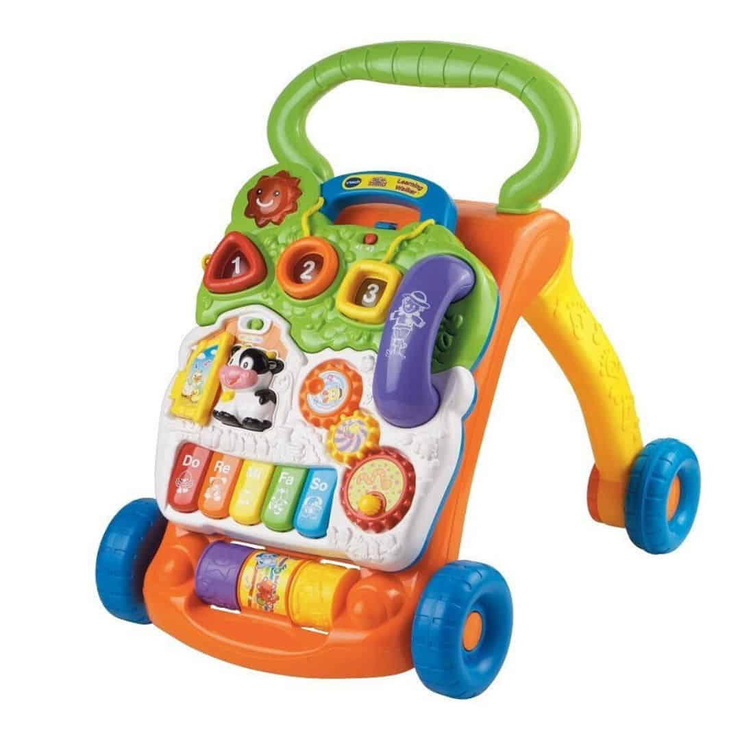 vtech sit to stand baby walker gift idea for 6 - 12 month olds