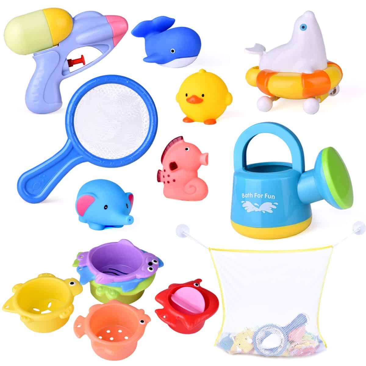 bath toys gift ideas for Christmas for 6 - 12 month olds