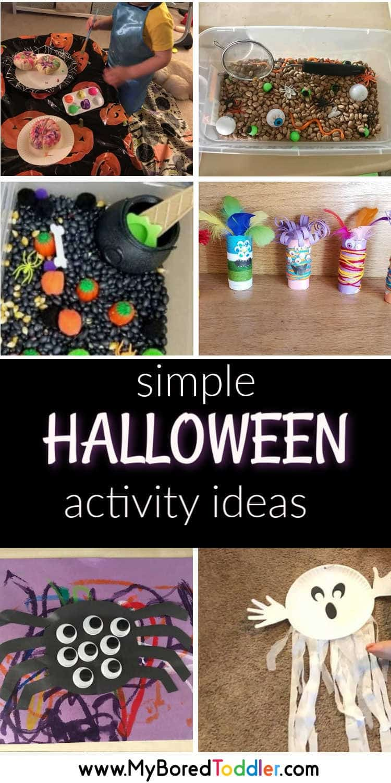 simple halloween toddler activity ideas