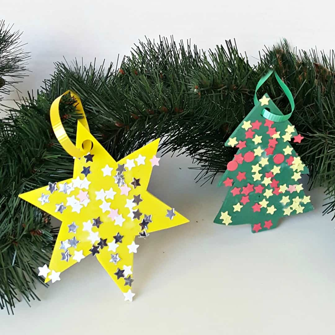 Easy Christmas Ornament For Toddlers To Make My Bored Toddler