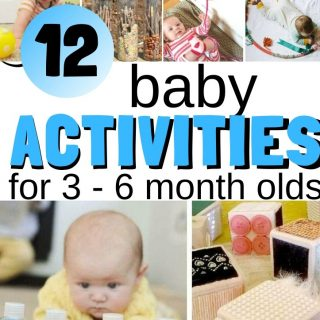 Activities for Babies 3 – 6 Months Old