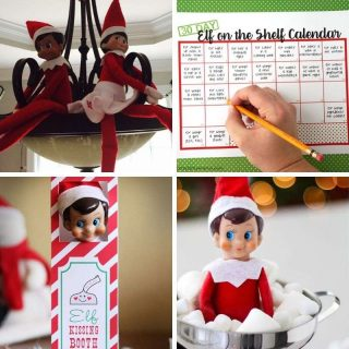 elf on the shelf Christmas ideas