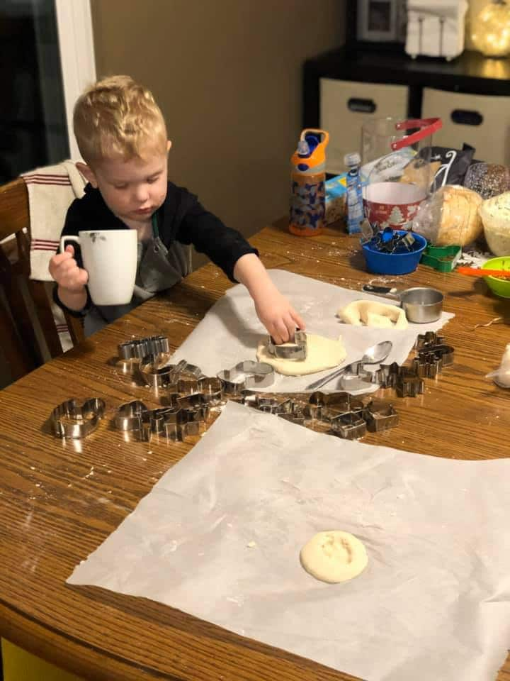 salt dough ornaments for toddlers to make