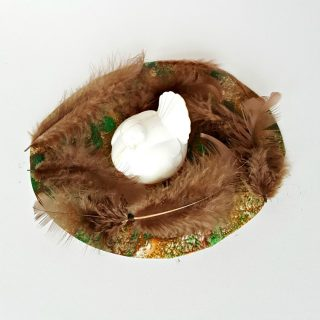 Bird Nest Painting Activity for Toddlers