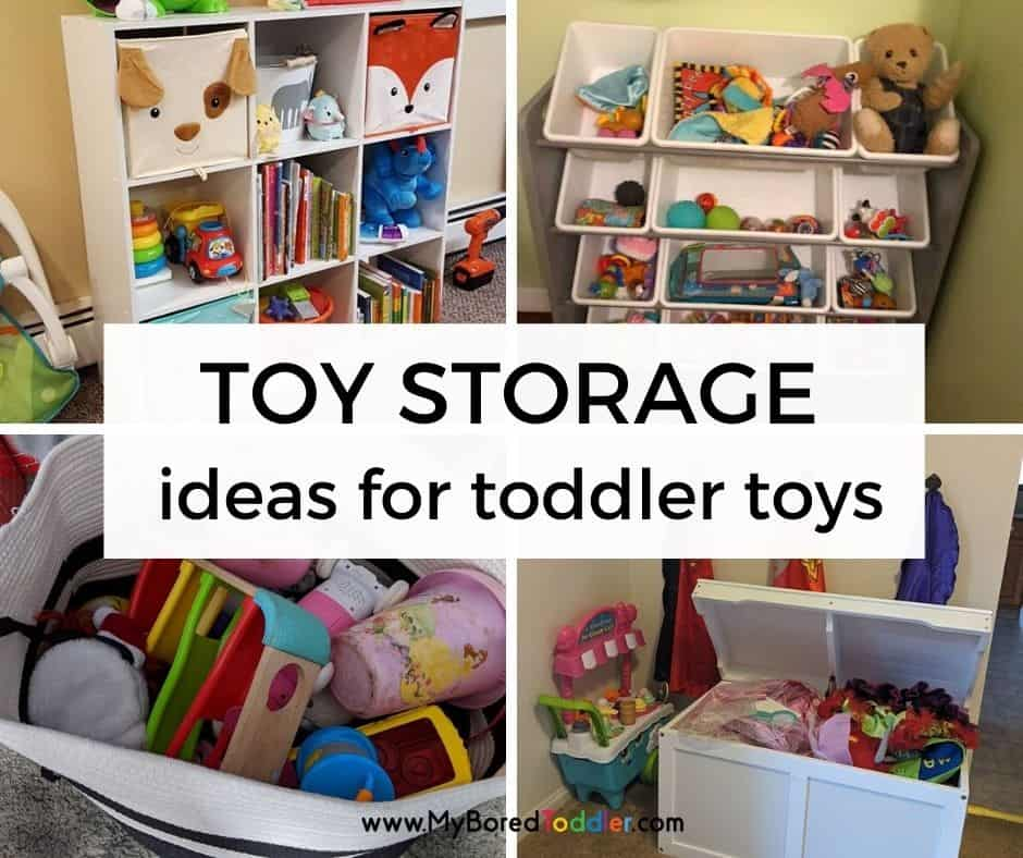 Real Life Toy Storage Ideas For Toddler Toys My Bored Toddler