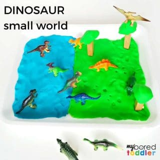 dinosaur small world play